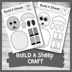 Make a Simple Sheep with this Build A Sheep Craft
