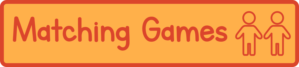 Printable Matching Games - great for toddlers and preschoolers and also memory games