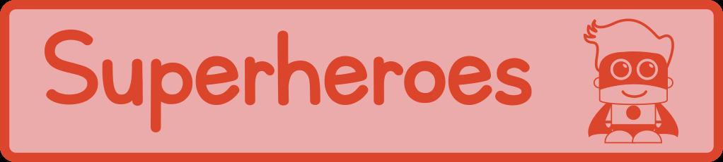 Superhero printables, crafts, games, activities and worksheets for preschool and kindergarten