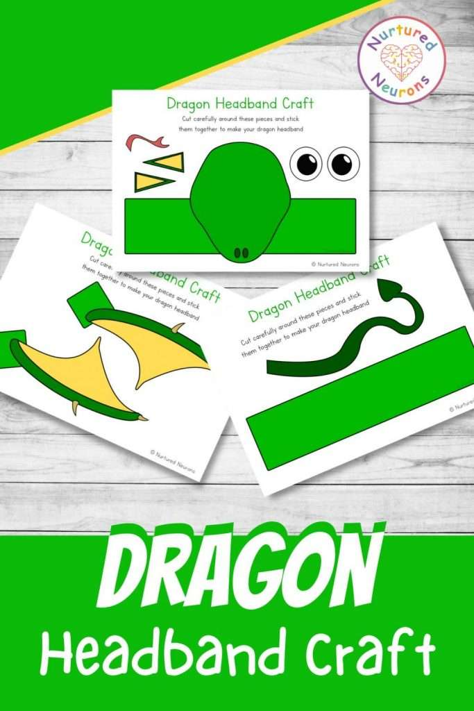 make a dragon hat with these paper templates